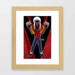 Thriller Time Framed Art Print