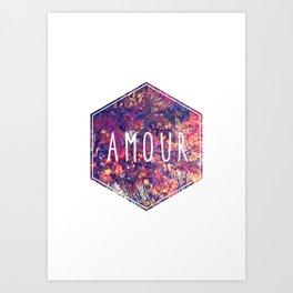 Amour Art Print
