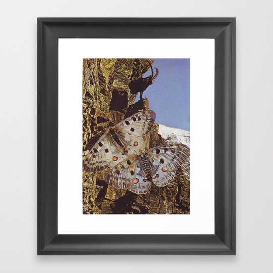 Collage #44 Framed Art Print