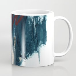 Blue and Red 2 Coffee Mug