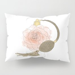 Golden Rose Perfume Pillow Sham