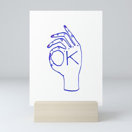 OK Mini Art Print