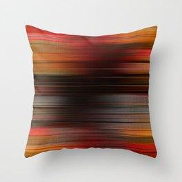 """Abstract Autumn Porstroke (Pattern)"" Throw Pillow"