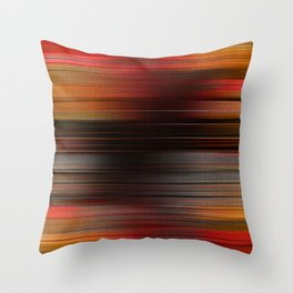 """Abstract Autumn Porstroke (Pattern)"" Throw Pillow"