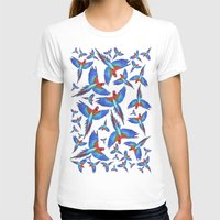 parrot T-shirts featuring Parrot. by Eleaxart