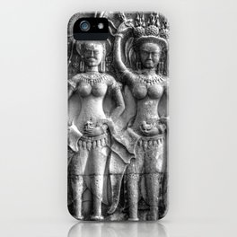 Cambodian Erotic Goddesses iPhone Case