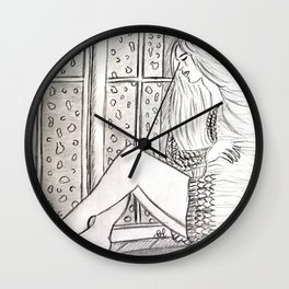 Just want to disappear Wall Clock
