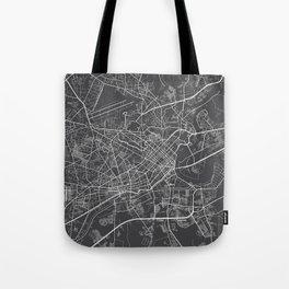 Ho Chi Minh City Map, Vietnam- Gray Tote Bag