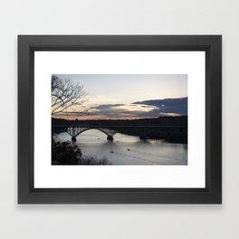Boat House Row, Schuylkill River, PA Framed Art Print