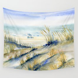 Ocean City Beach Maryland Wall Tapestry