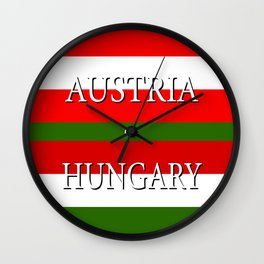 AUSTRIA or HUNGARY – UEFA Euro 2016 Wall Clock
