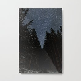 Night Walks | Nature and Landscape Photography Metal Print