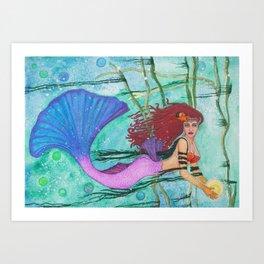 The Sea Sphere Art Print
