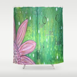 Jehovah Rapha Shower Curtain