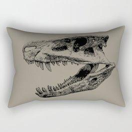 Postosuchus Skull Rectangular Pillow