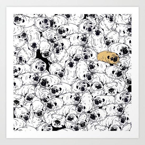 phug life! Art Print