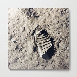 One Giant Leap For Mankind Metal Print