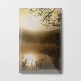 Through the Mists Metal Print
