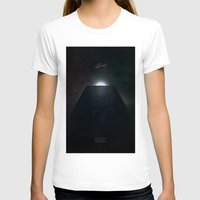 2001 a space odyssey T-shirts featuring 2001 A Space Odyssey alternative movie poster by LionDsgn