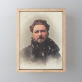 Ezra Pound, Literary Legend Framed Mini Art Print