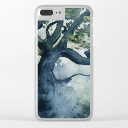 The Wishing Tree Clear iPhone Case