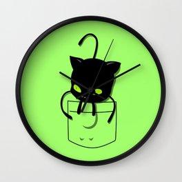Plagg Pocket Tee Wall Clock