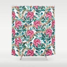Glam Portea Shower Curtain
