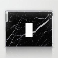 Black Marble - Alphabet I Laptop & iPad Skin