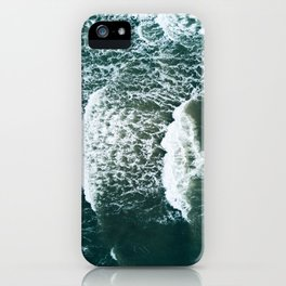Wavy Waves on a stormy day iPhone Case