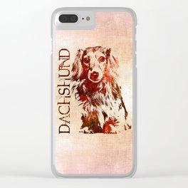 Dachshund dog  - Doxie Clear iPhone Case