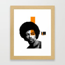 GIL SCOTT HERON Framed Art Print
