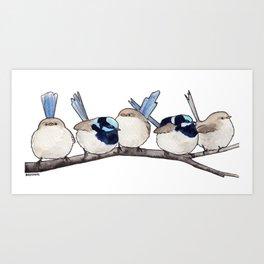 Bird no. 504: Chunkytown Art Print