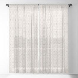 Mae Pattern XI Sheer Curtain