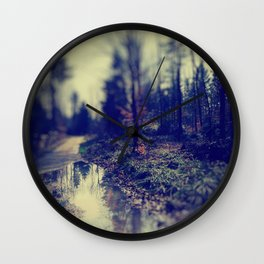 In the forrest Wall Clock