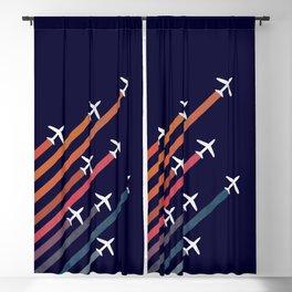 Aerial acrobat Blackout Curtain