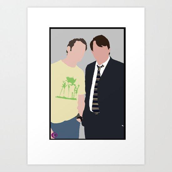 Peep Show Art Print