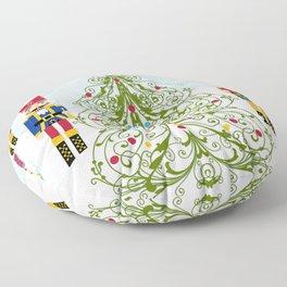 Nutcrackers choir Floor Pillow