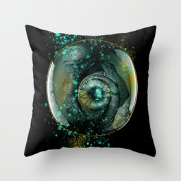 Eye Sphere Throw Pillow