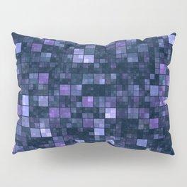 Blue Squares Pillow Sham
