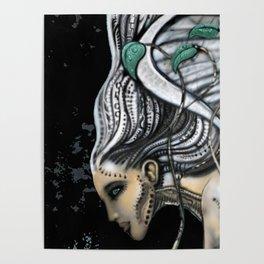 Biomechanical Angel Poster
