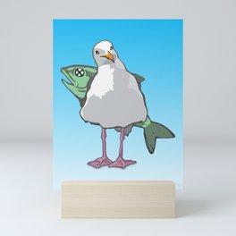 California Seagull Mini Art Print