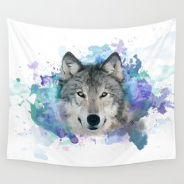 She Wolf Wall Tapestry
