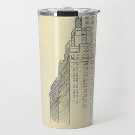 Vintage Skycrapers Travel Mug