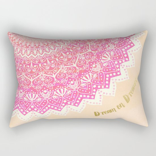 FAIRY MANDALA Rectangular Pillow