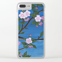 Blossoming Tree Clear iPhone Case