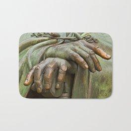 Hands of Wisdom Bath Mat