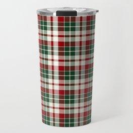 Christmas Plaid 11 Travel Mug