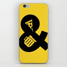 Pizza & Beer iPhone Skin