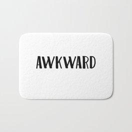 Awkward Bath Mat