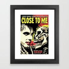 TFTS | Close Framed Art Print